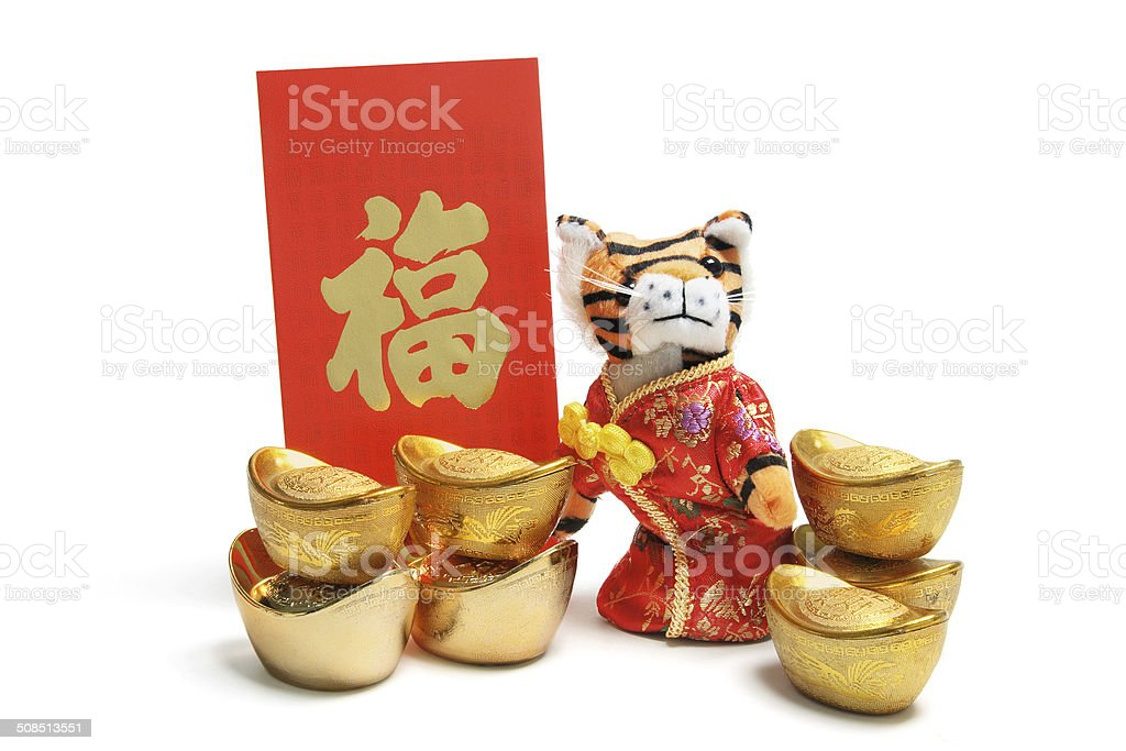 Year of Tiger stock photo