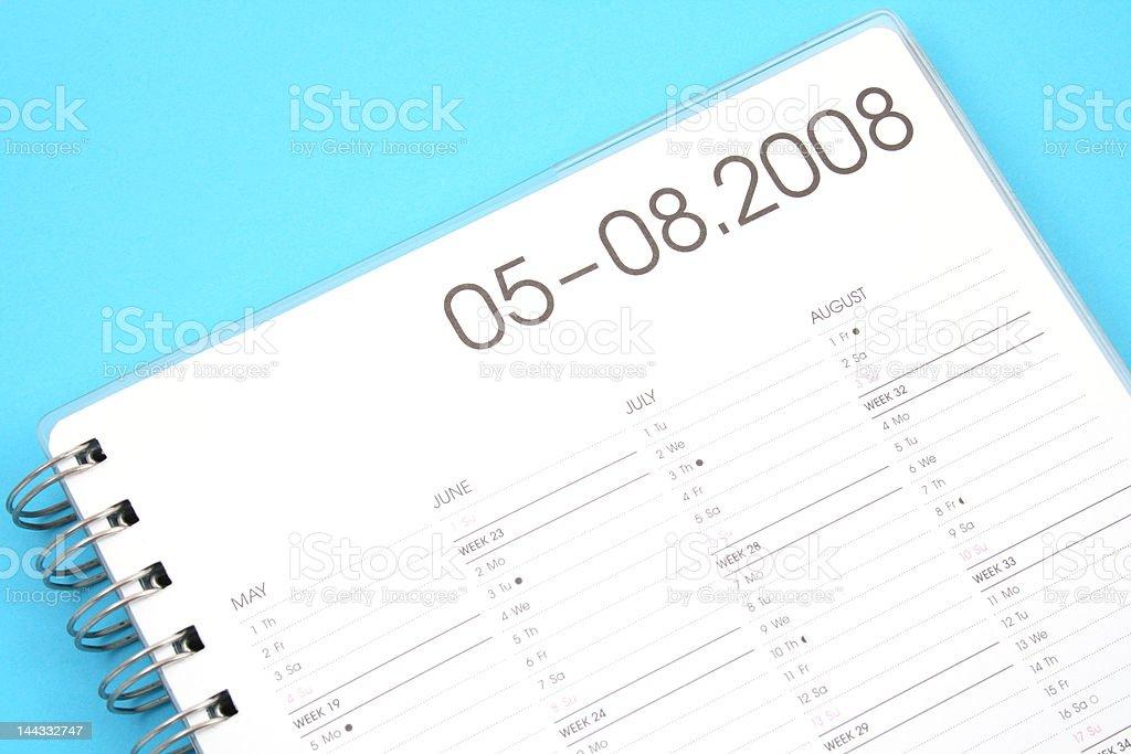 year planner stock photo