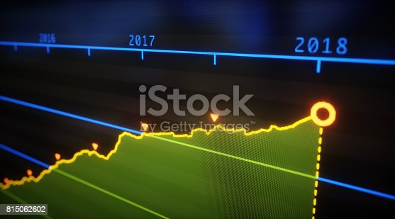 istock Yearly Graph Line 815062602