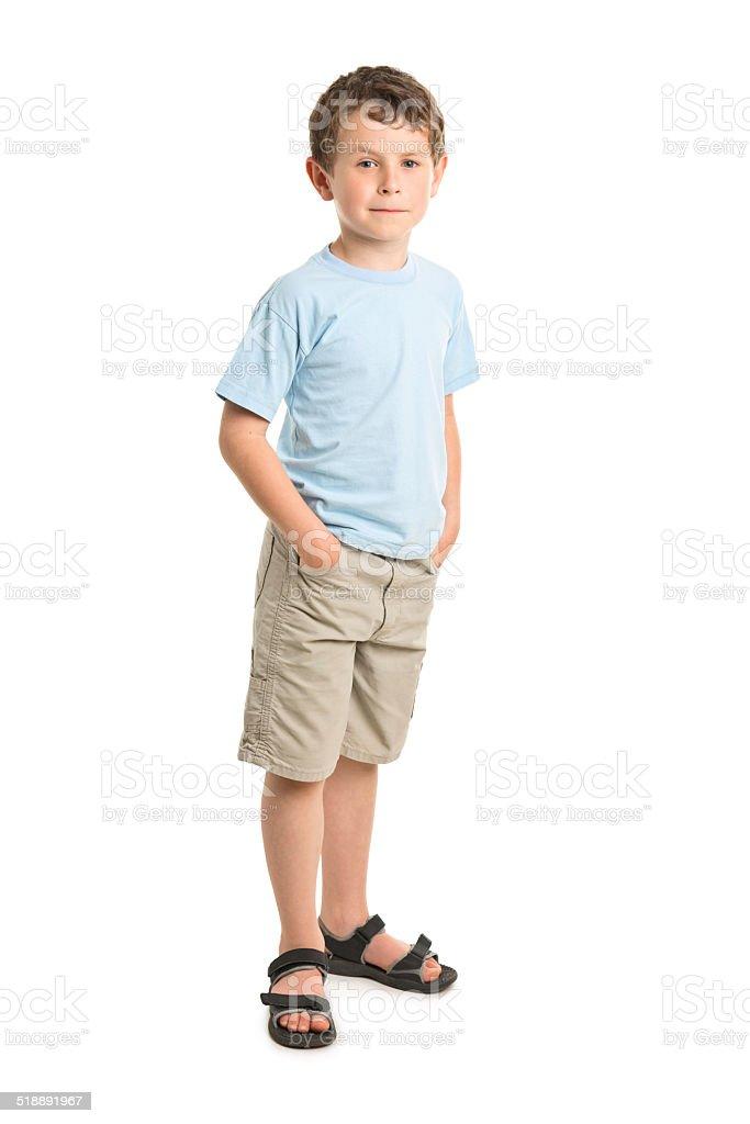 7 anos de idade menino - foto de acervo