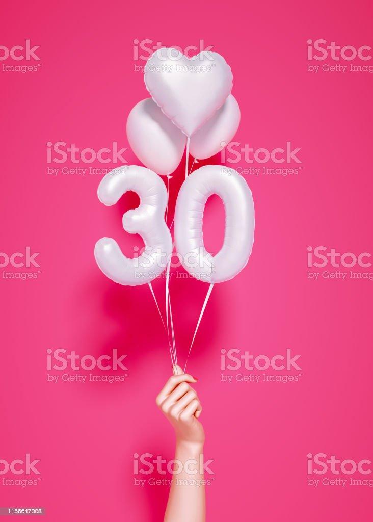 30歳。創立30周年 - 30-34歳のロイヤリティフリーストックフォト