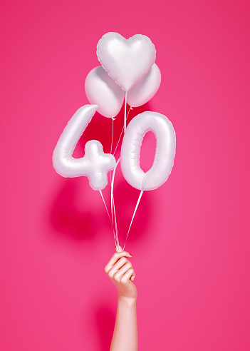 istock 40 years old. Number 40th anniversary, 1156647285