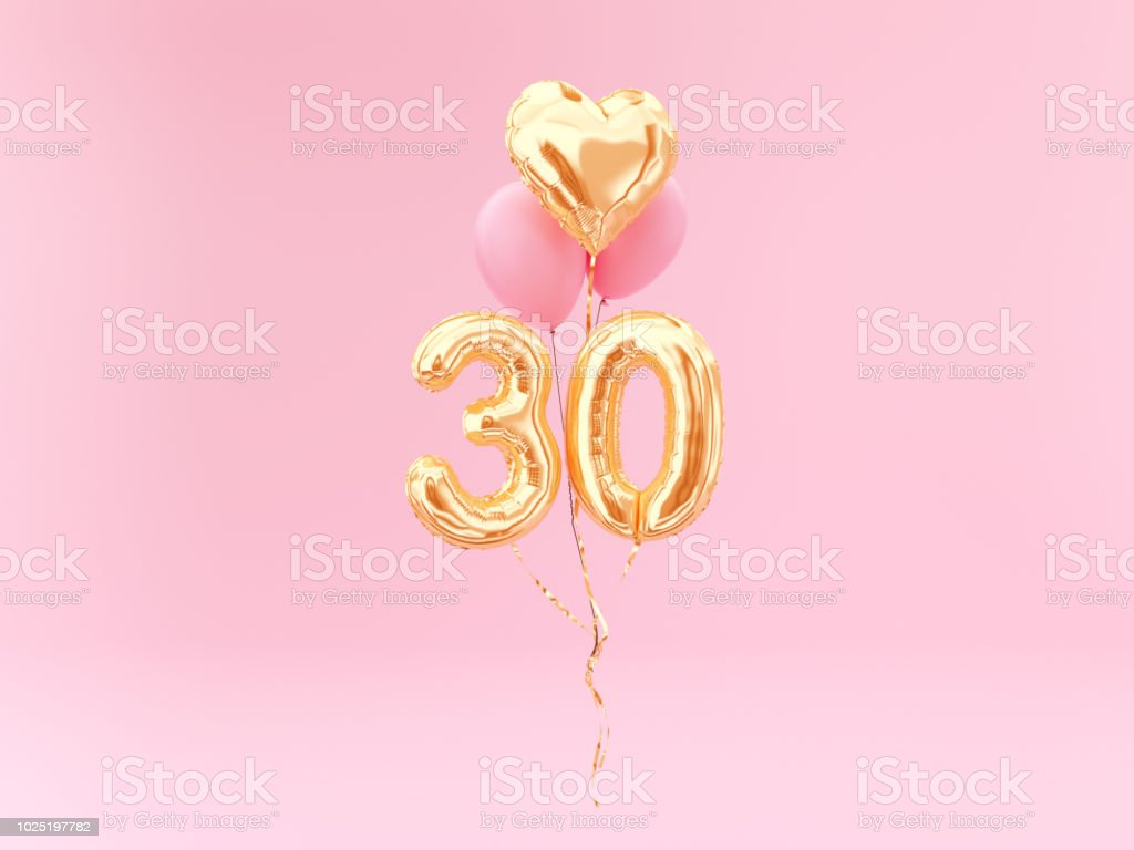 30 years old. stock photo