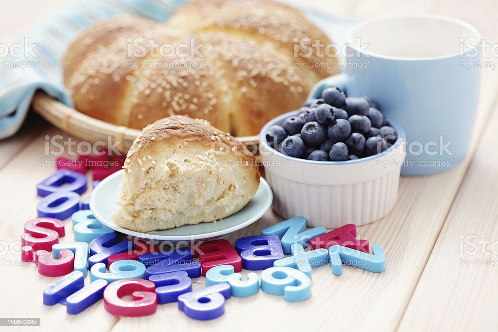 yeast buns royalty-free stock photo