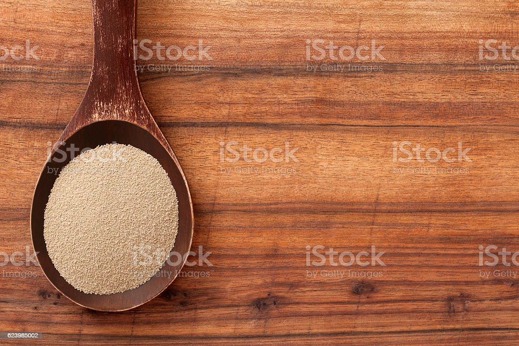 Yeast stock photo