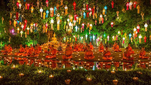 Yee Peng Festival im Wat Phan Restaurant