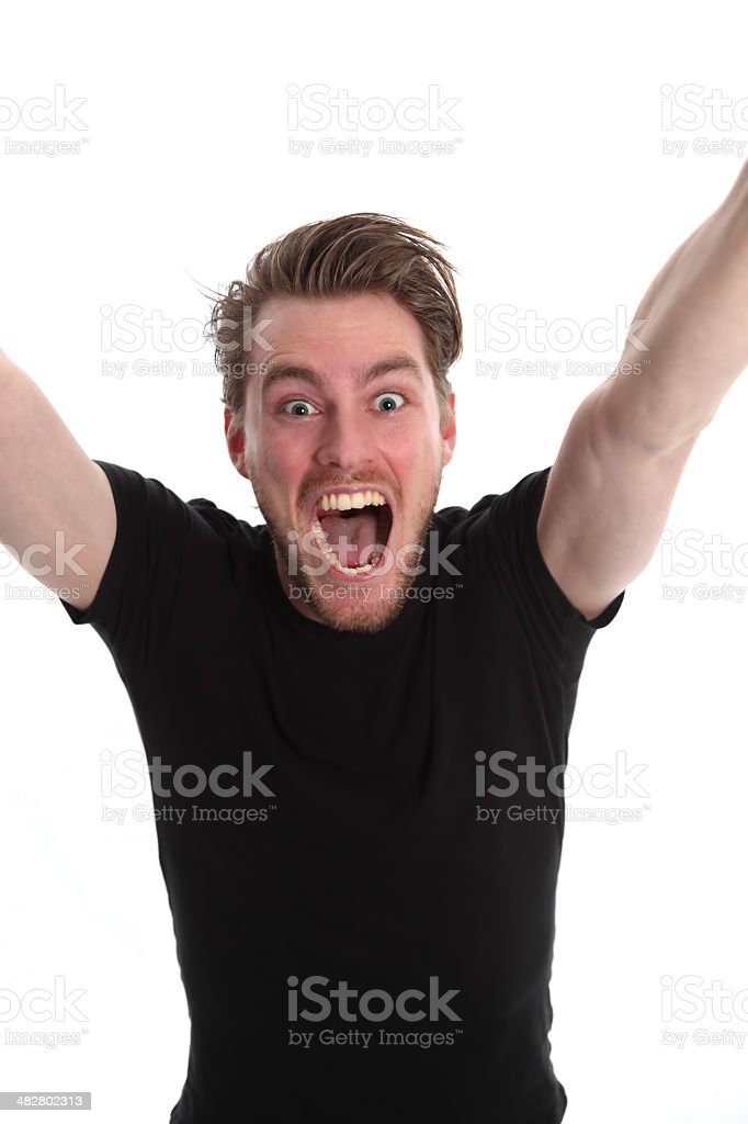 Yeeeaah!! royalty-free stock photo