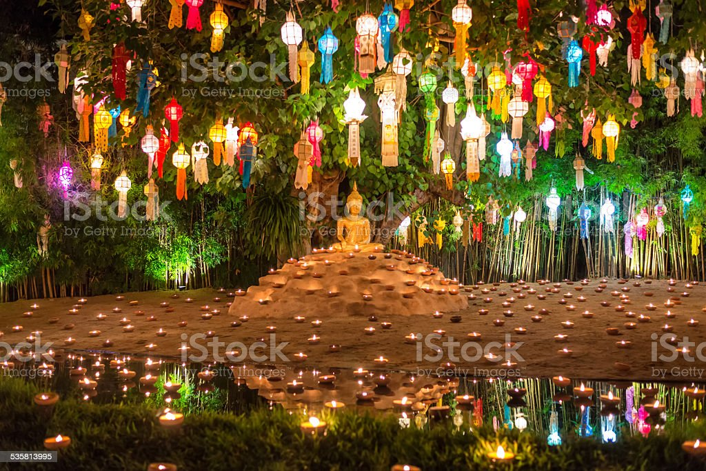 yeepeng festival at Pantao temple stock photo