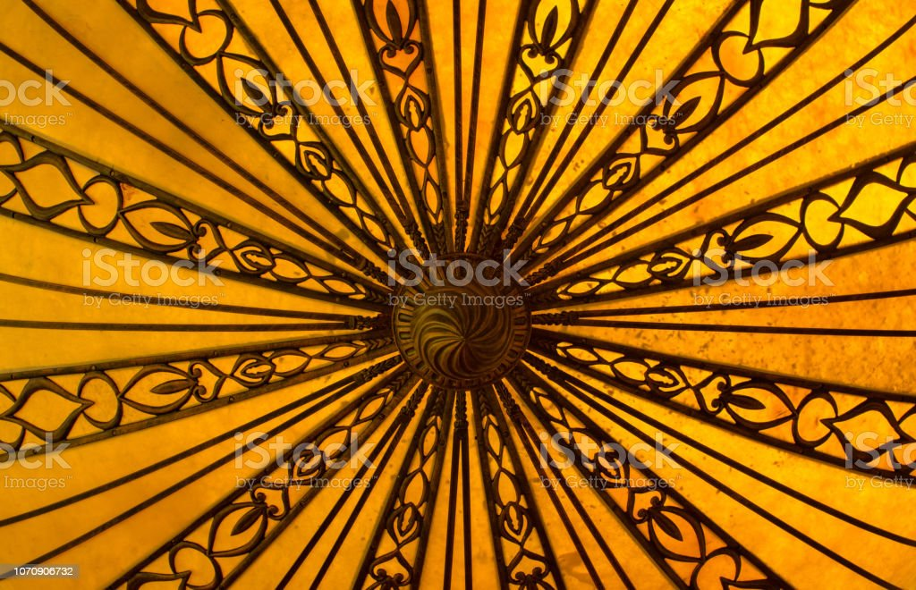 Yellow Abstract Background Design stock photo