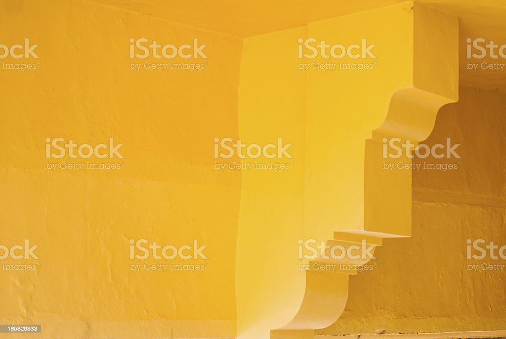 Yellow Adobe Walls royalty-free stock photo