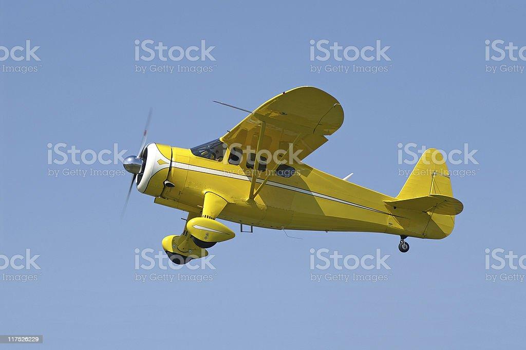 Fotografía de Howard Aviones Dga15p Amarillo Avión Volando En El ...