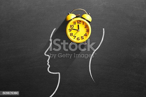 istock Yellow alarm clock 505626360
