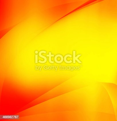 istock Yellow and orange abstract gradient background 466962767