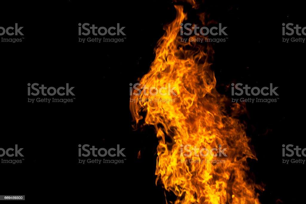 Yellow And Orange Fire Frames stock photo | iStock