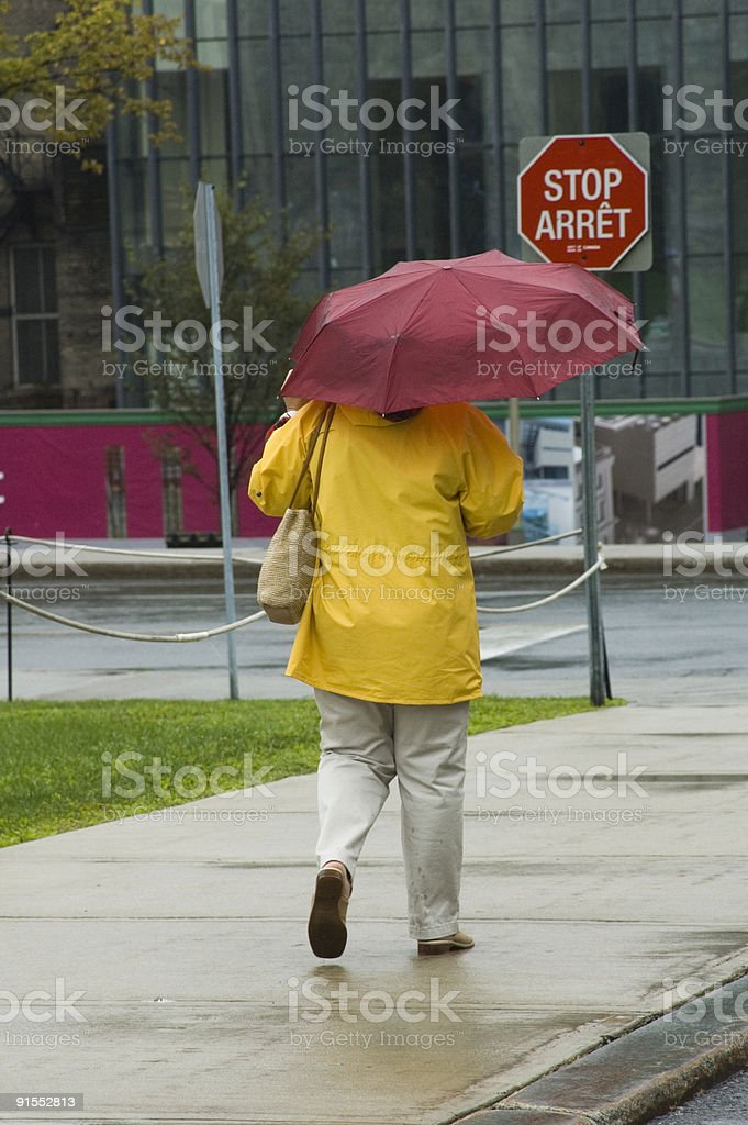 Yellow and Red stock photo