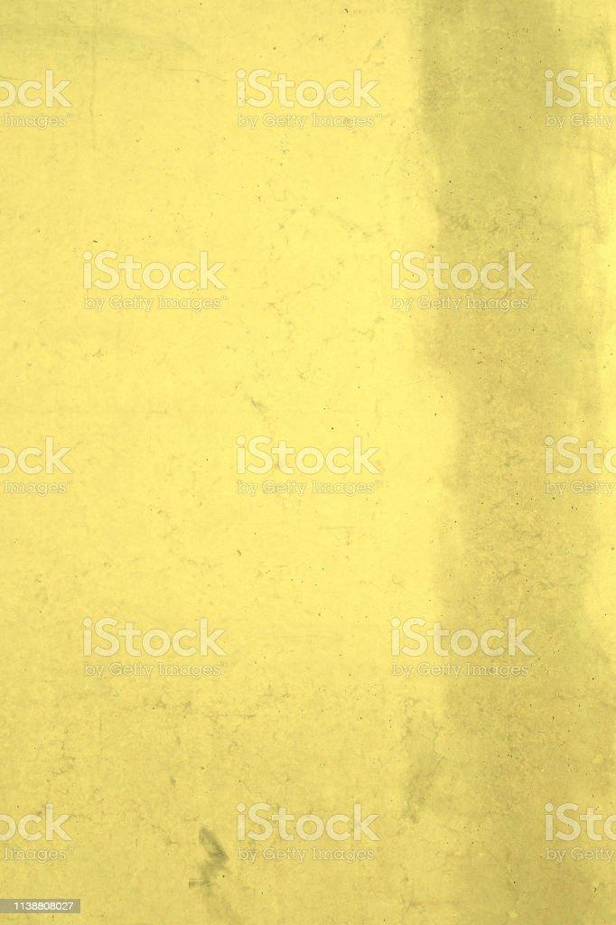 Eine Serie von strukurierten Betonwänden, Steinwänden in gelb...