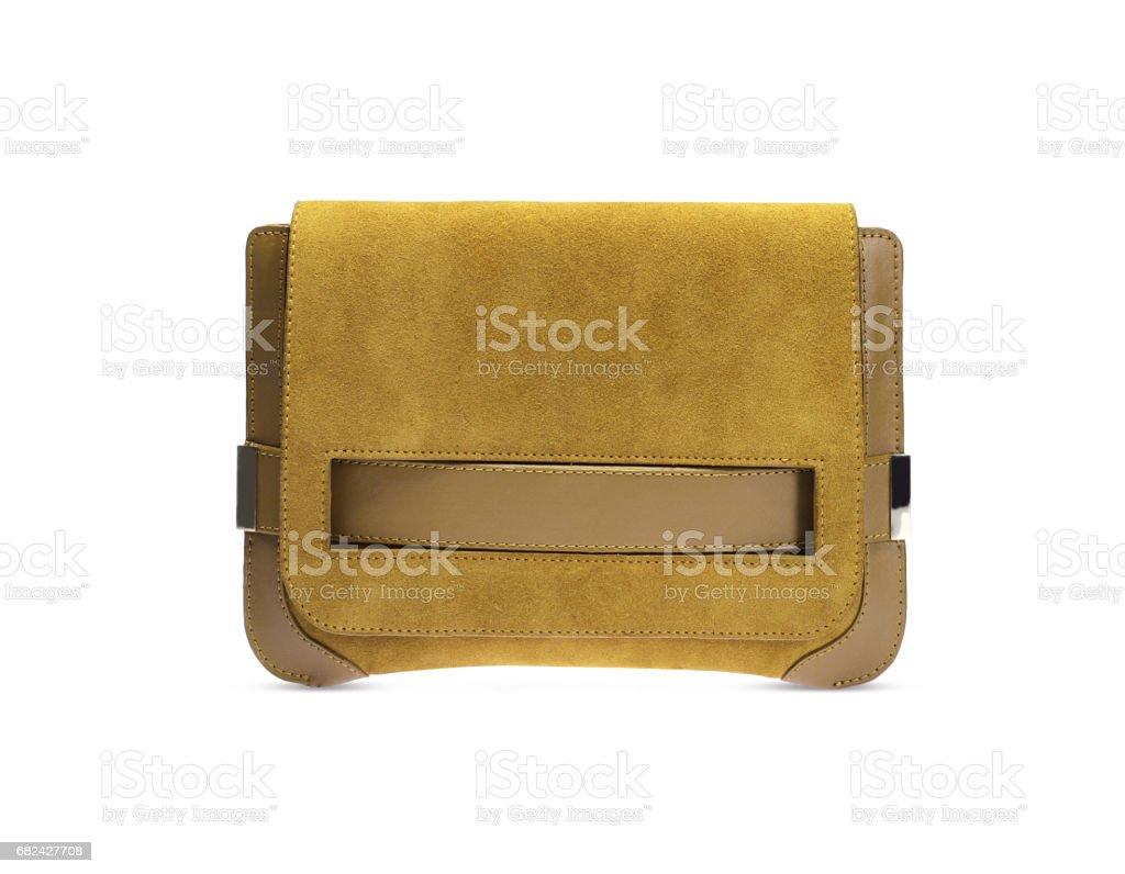 Yellow Bag royalty-free stock photo