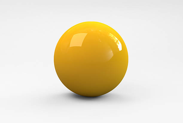 yellow ball - ball stock photos and pictures
