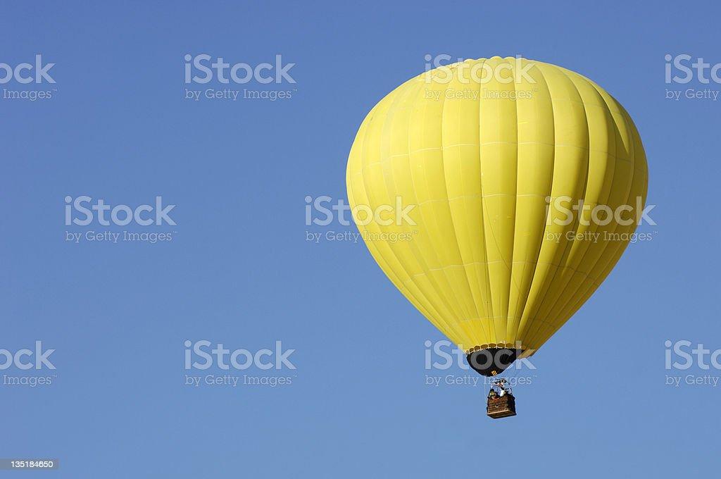 Yellow balloon royalty-free stock photo