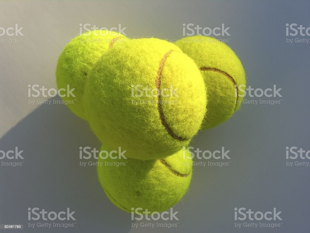 Yellow Balls royalty-free stock photo
