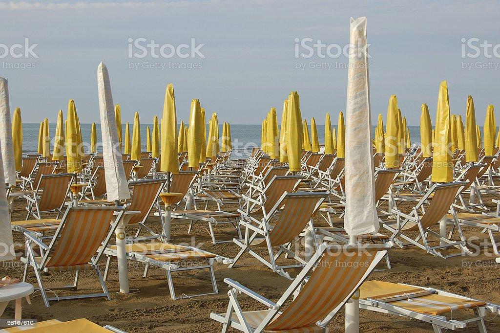 Yellow Beach royalty-free stock photo