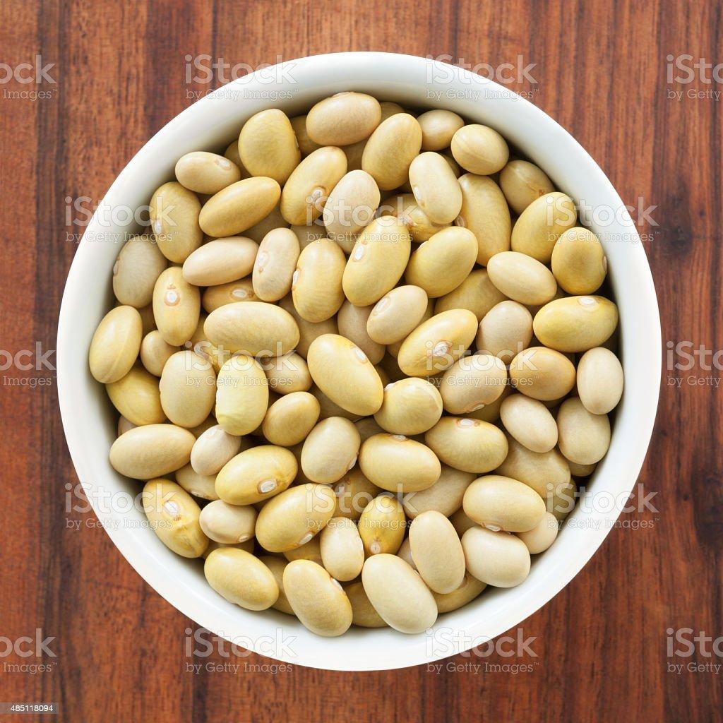 Yellow beans stock photo