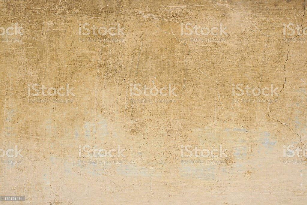 Yellow beige Roman wall texture royalty-free stock photo