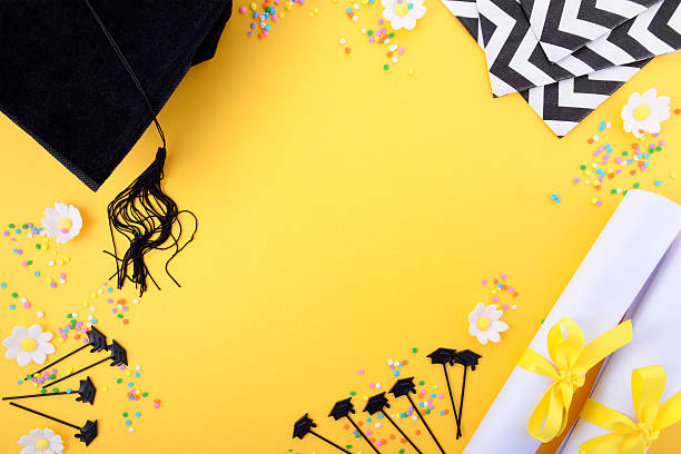 Best Graduation Background Stock Photos, Pictures ...