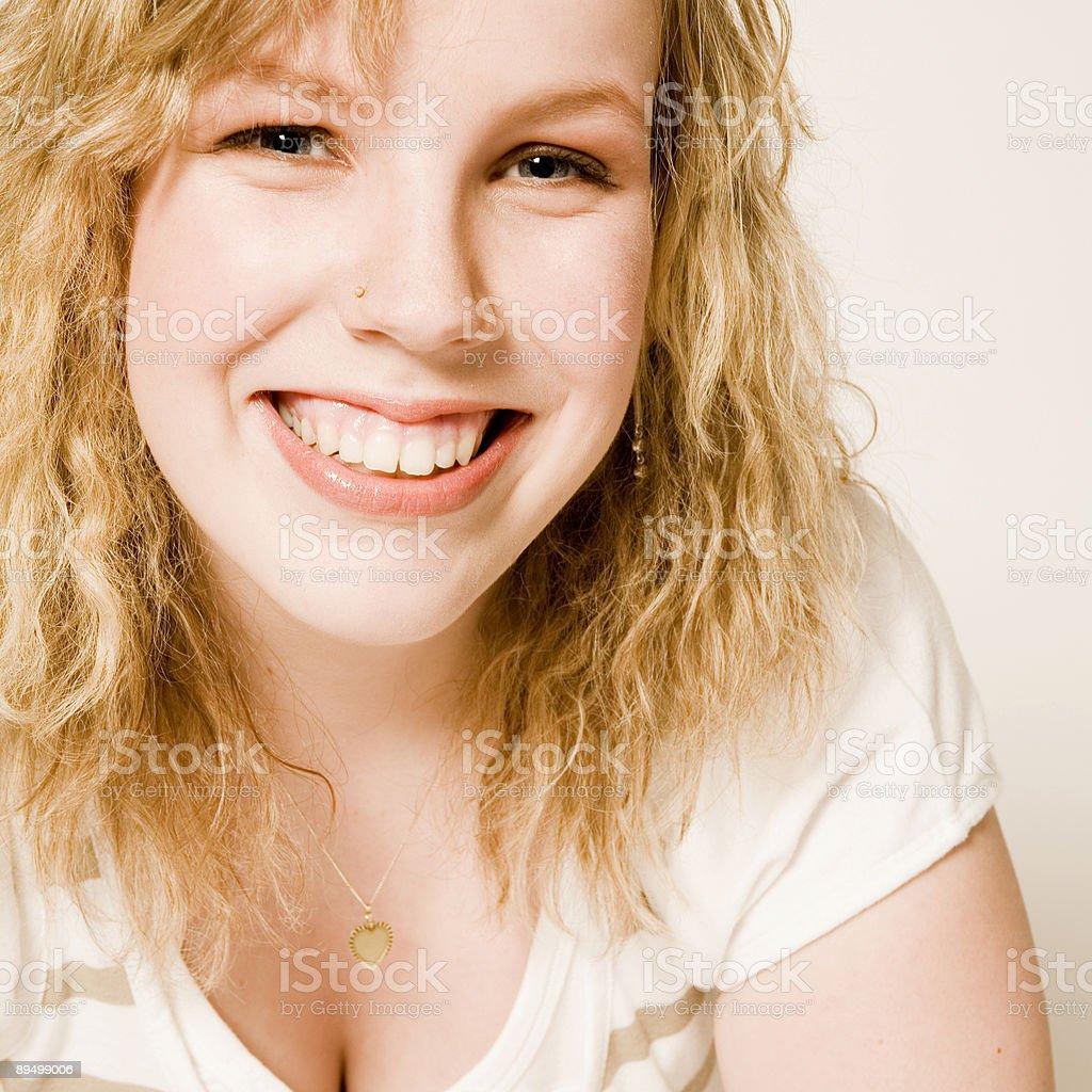 Jaune blond photo libre de droits
