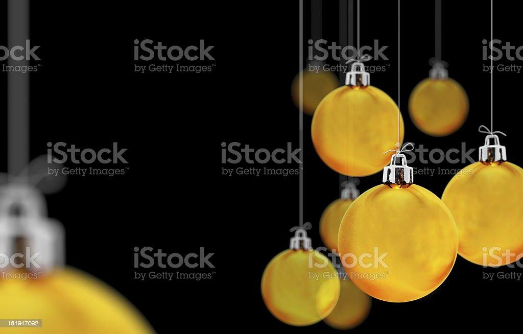 yellow boubles stock photo