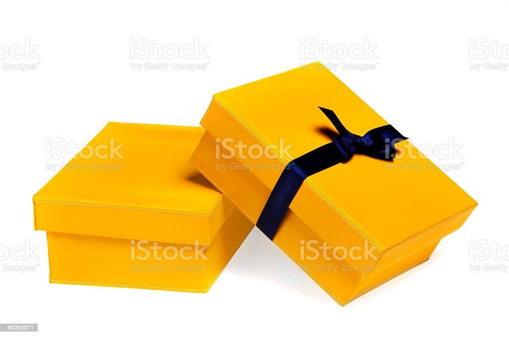 yellow boxes 1.0 stock photo
