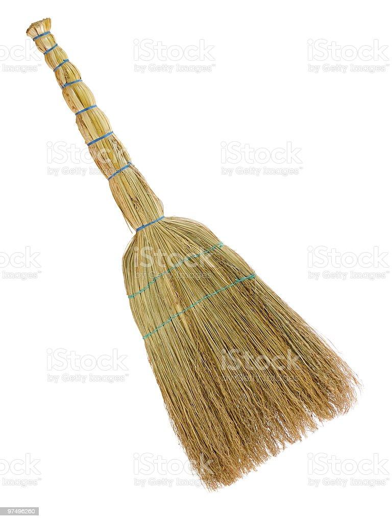 Yellow broom royalty-free stock photo