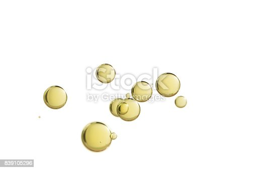 886746424 istock photo Yellow bubbles 839105296