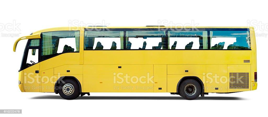 Yellow Bus stock photo