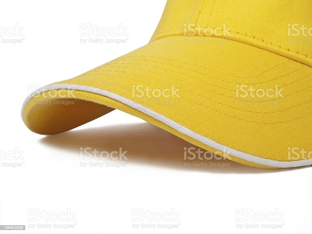 Yellow cap royalty-free stock photo