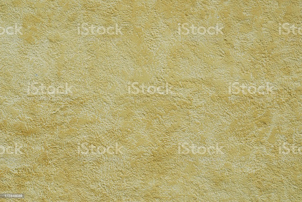 Yellow Cement Background royalty-free stock photo
