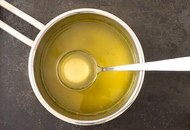 Soupe dans une casserole - Photo