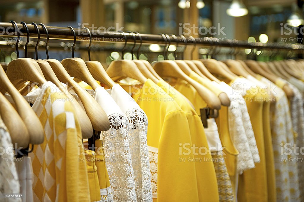 Amarillo guantes - foto de stock