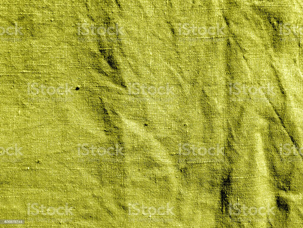 Yellow color cotton cloth. zbiór zdjęć royalty-free