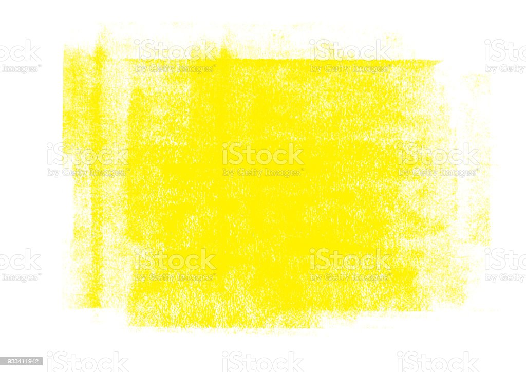 Yellow color graphic color brush strokes patches effect background stock photo