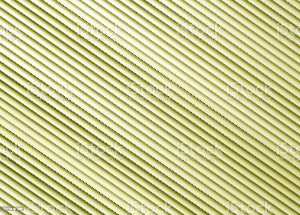 Yellow color metal warehouse wall pattern stock photo