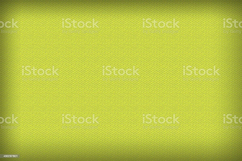 Yellow color of background and Patterned as black cloth. stock photo