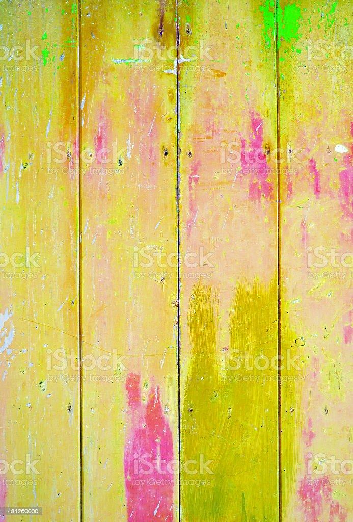vintage Fundo amarelo colorido - foto de acervo
