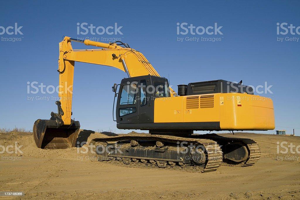 Yellow Construction Equipment royalty-free stock photo