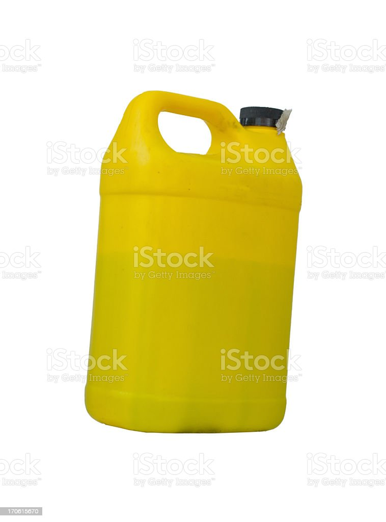 Yellow Container royalty-free stock photo