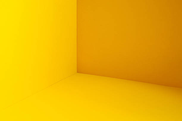 yellow corner - yellow stock photos and pictures