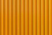 Yellow corrugated wall