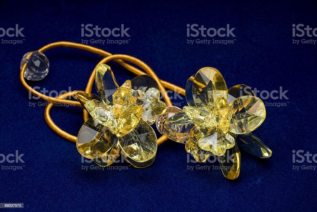 Yellow Crystal royalty-free stock photo
