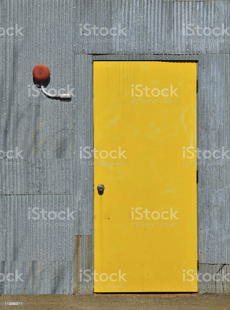 Yellow Door royalty-free stock photo