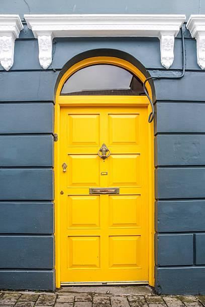 Gelbe Tür – Foto